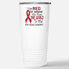 Heart Disease MeansWorl Stainless Steel Travel Mug