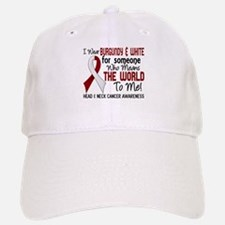 Head Neck Cancer MeansWorldToMe2 Baseball Baseball Cap
