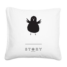 Perseverance Story Square Canvas Pillow