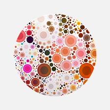 mod circles pattern Button