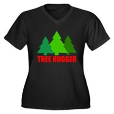 TREE HUGGER Plus Size T-Shirt