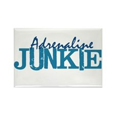 Adrenaline Junkie Rectangle Magnet (100 pack)