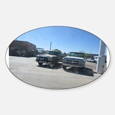 Old Trucks Decal