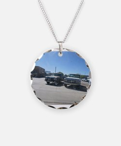 Old Trucks Necklace