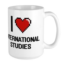 I Love International Studies Mugs