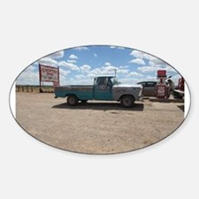 Old Turquoise Truck Decal