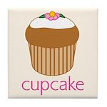 Cupcake Tile Coaster