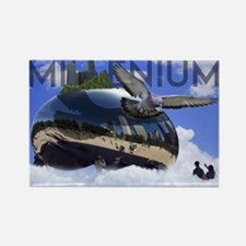 Millenium Reflection Rectangle Magnet