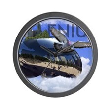 Millenium Reflection Wall Clock