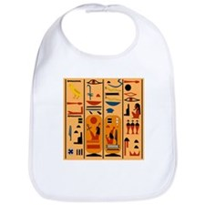 Hieroglyphics Bib