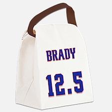 Funny Brady Canvas Lunch Bag