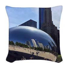 Millenium Park Woven Throw Pillow