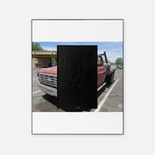 Old Red Truck Picture Frame