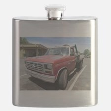 Old Red Truck Flask