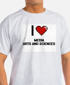 I Love Media Arts And Sciences T-Shirt