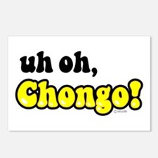 uh oh, Chongo! Postcards (Package of 8)