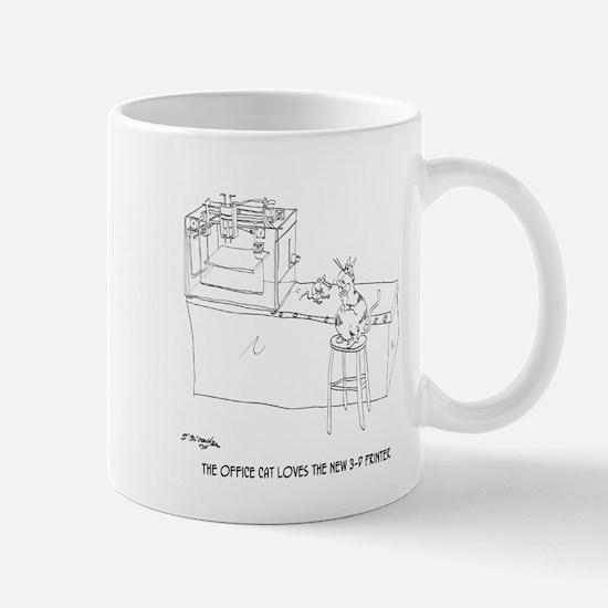 Cat Cartoon 9261 Mug