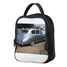 Rear Of Silver Car Neoprene Lunch Bag