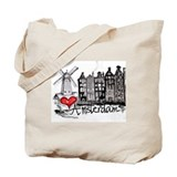Amsterdam Canvas Totes