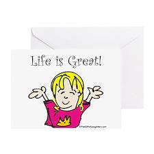 Unique Regina Greeting Card