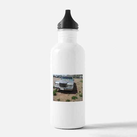An Old Car Water Bottle