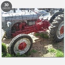 Old Grey Farm Tractor Puzzle