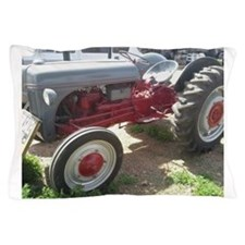 Old Grey Farm Tractor Pillow Case