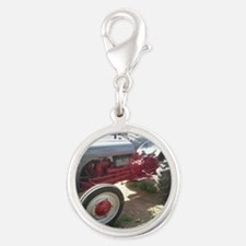 Old Grey Farm Tractor Charms
