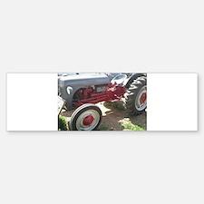 Old Grey Farm Tractor Bumper Bumper Bumper Sticker