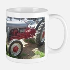 Old Grey Farm Tractor Mugs