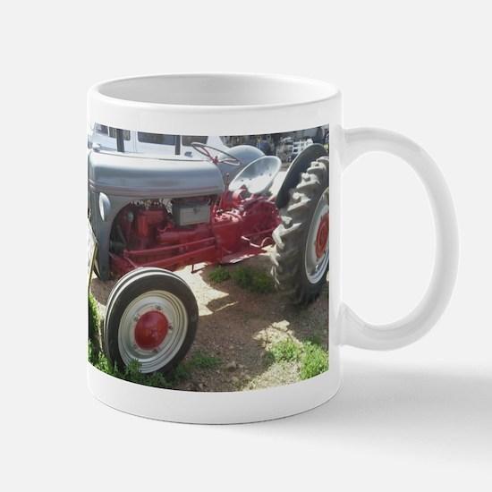 Old Grey Farm Tractor Mugs