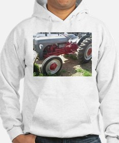 Old Grey Farm Tractor Hoodie
