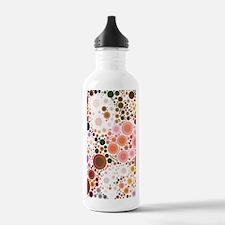 mod circles pattern Water Bottle