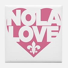 NOLA LOVE Tile Coaster