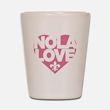 NOLA LOVE Shot Glass