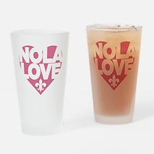 NOLA LOVE Drinking Glass