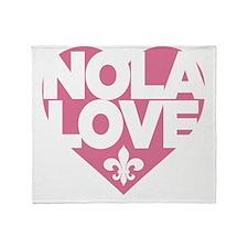 NOLA LOVE Throw Blanket