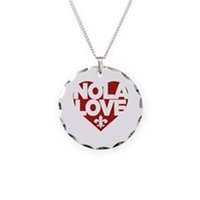 Cute Nola heart Necklace