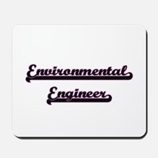 Environmental Engineer Classic Job Desig Mousepad