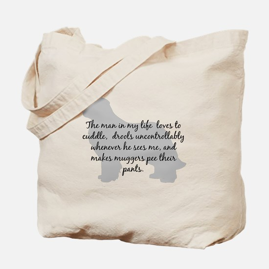 Newf Man in my Life Tote Bag