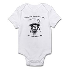 Shtreimel : Party Time! Infant Bodysuit