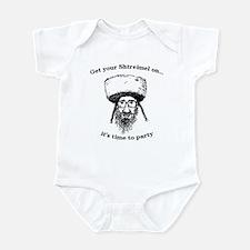 Shtreimel : Party Time! Infant Bodysuit