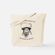 Shtreimel : Party Time! Tote Bag