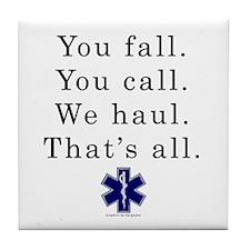 You Fall... Tile Coaster