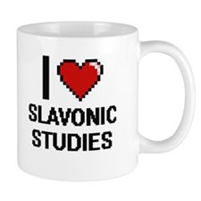 I Love Slavonic Studies Mugs