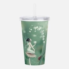 Lily of the Valley Fairy Acrylic Double-wall Tumbl