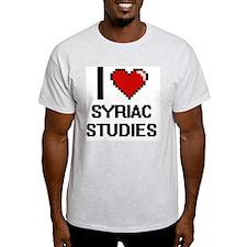 I Love Syriac Studies T-Shirt