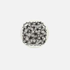 Zentangle Mini Button