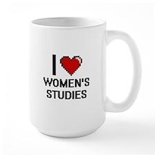 I Love Women'S Studies Mugs