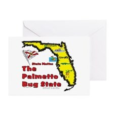 FL-Palmetto! Greeting Cards (Pk of 10)